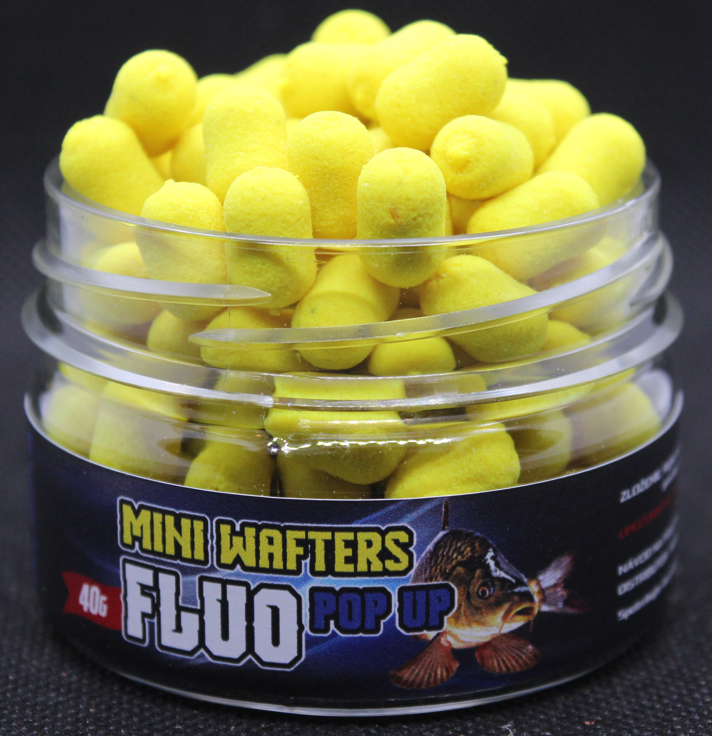 Mini Wafters 8mm Žltá