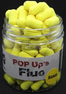 Fluo Pop Up Banán 10x15mm Dumbels