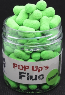 Fluo Pop Up Ananás 10x15mm Dumbels